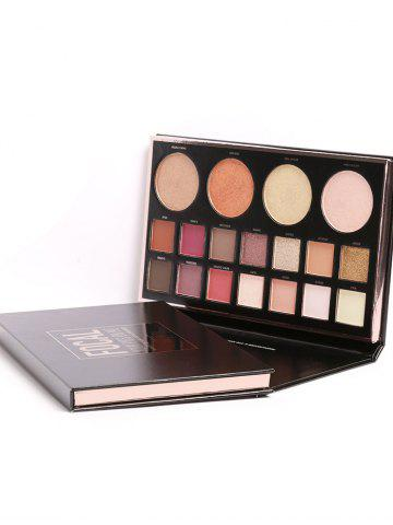 Online Professional 18 Colors Eyeshadow Palette Kit