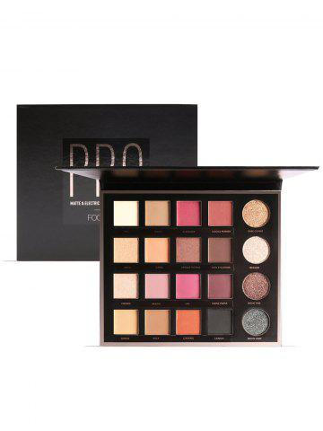 Affordable 18 Colors Professional Natural Long Lasting Eyeshadow Palette