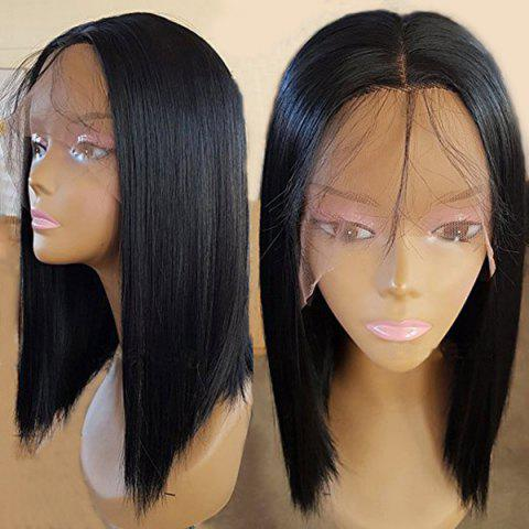 Outfit Medium Center Parting Straight Lace Front Synthetic Wig