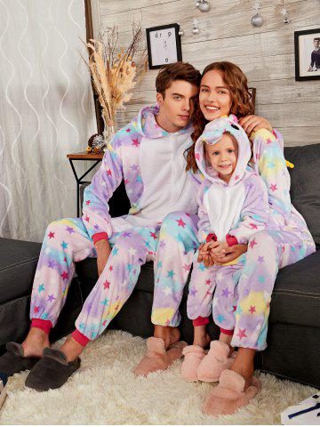 Shops Rainbow Pegasus Animal Christmas Family Onesie Pajama Set