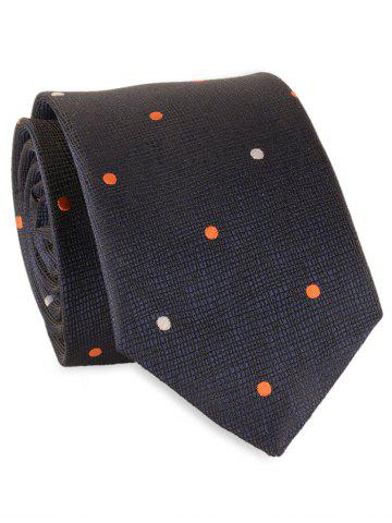 Buy Vintage Polka Dot Pattern Embellished Necktie