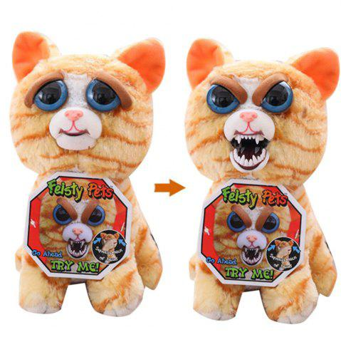 Trendy Feisty Pets Plush Stuffed Toy Turns Feisty with A Squeeze