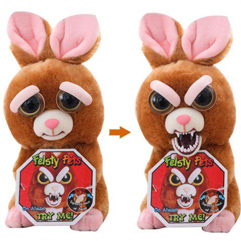 Online Feisty Pets Plush Stuffed Toy Turns Feisty with A Squeeze