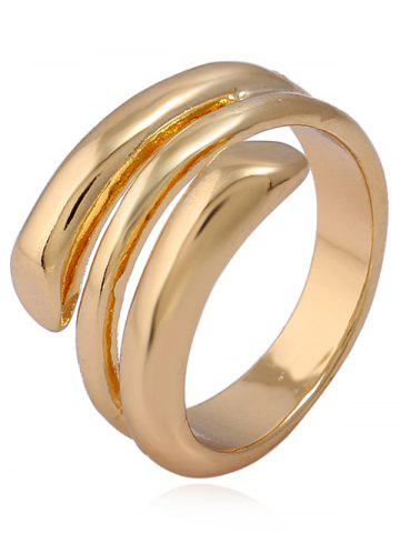 Fashion Alloy Simple Cuff Finger Ring