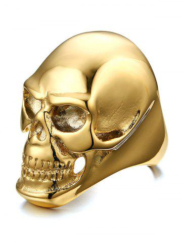 Hot Alloy Simple Skull Ring