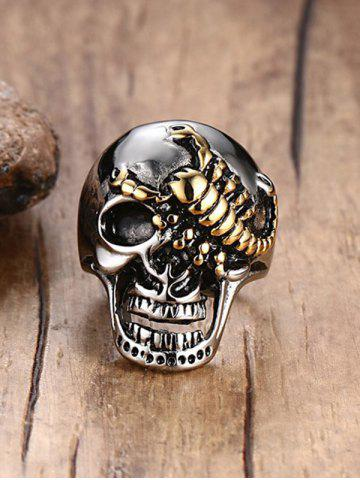 Fashion Skull Scorpion Stainless Steel Finger Ring