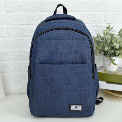 Multi Function Zip Backpack With Handle -