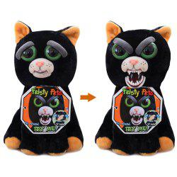 Feisty Pets Plush Stuffed Toy Turns Feisty with A Squeeze -