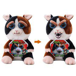 Pets Plush Stuffed Toy Turns Angry with A Squeeze -