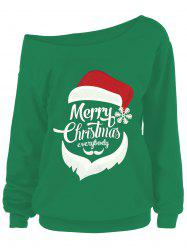 Merry Christmas Plus Size Santa Claus Sweatshirts -