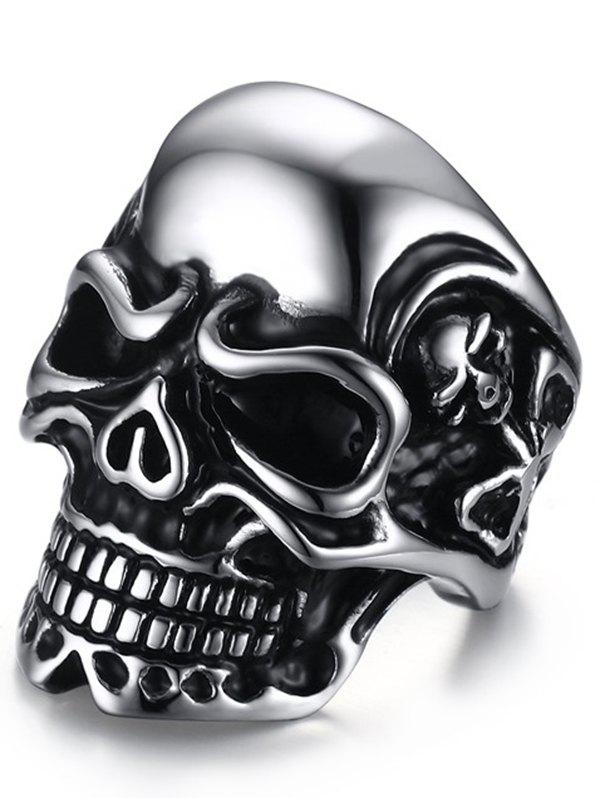 Sale Stainless Steel Skull Cool Ring