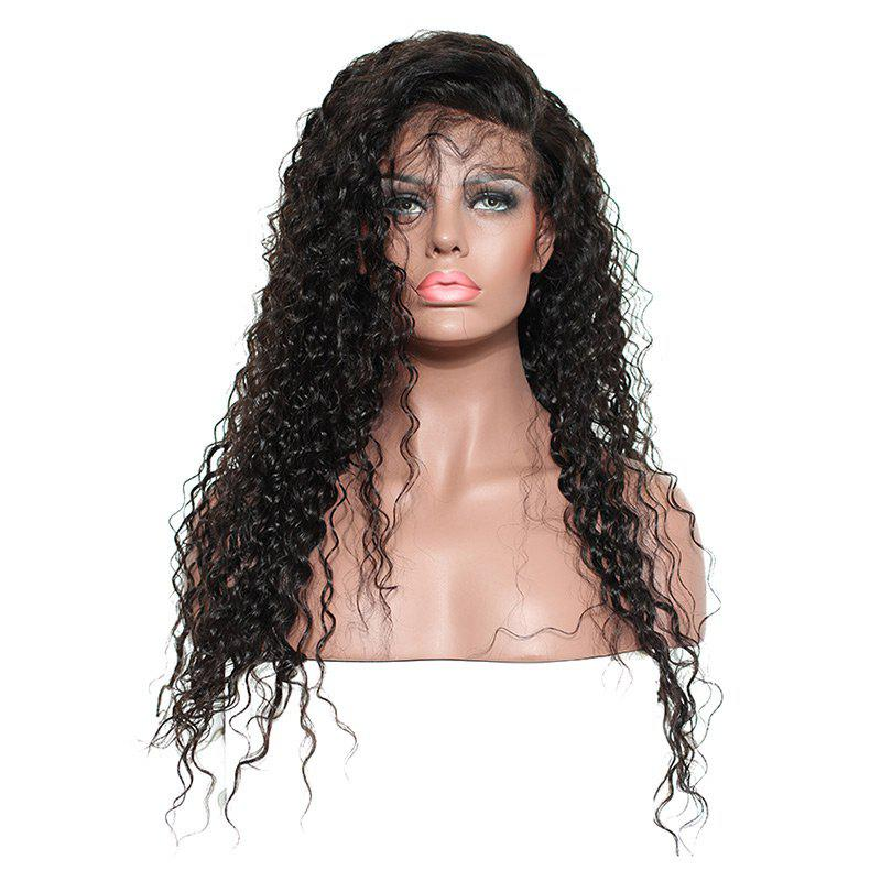 Buy Long Side Parting Fluffy Kinky Curly Lace Front Synthetic Hair