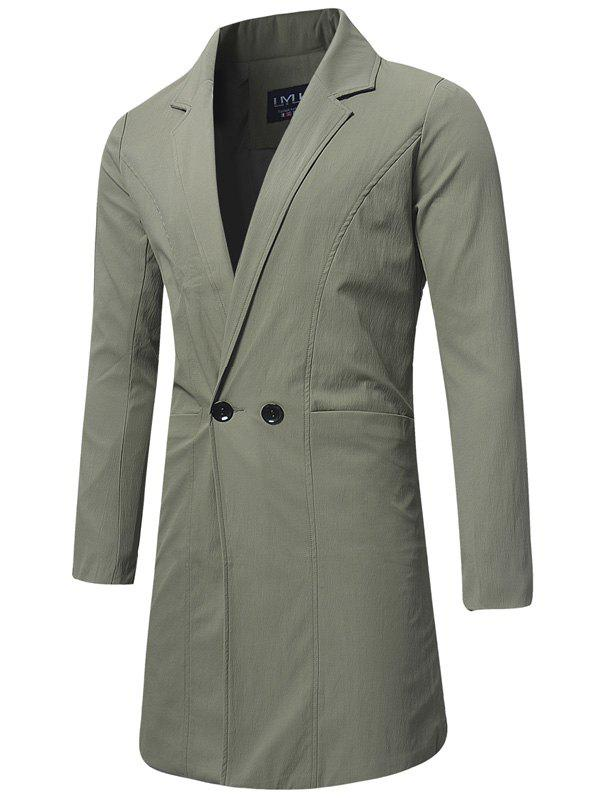 Sale Longline Double Breasted Trench Coat