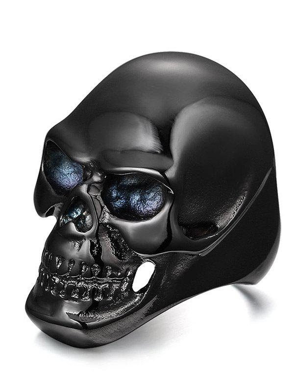 Fancy Alloy Simple Skull Ring