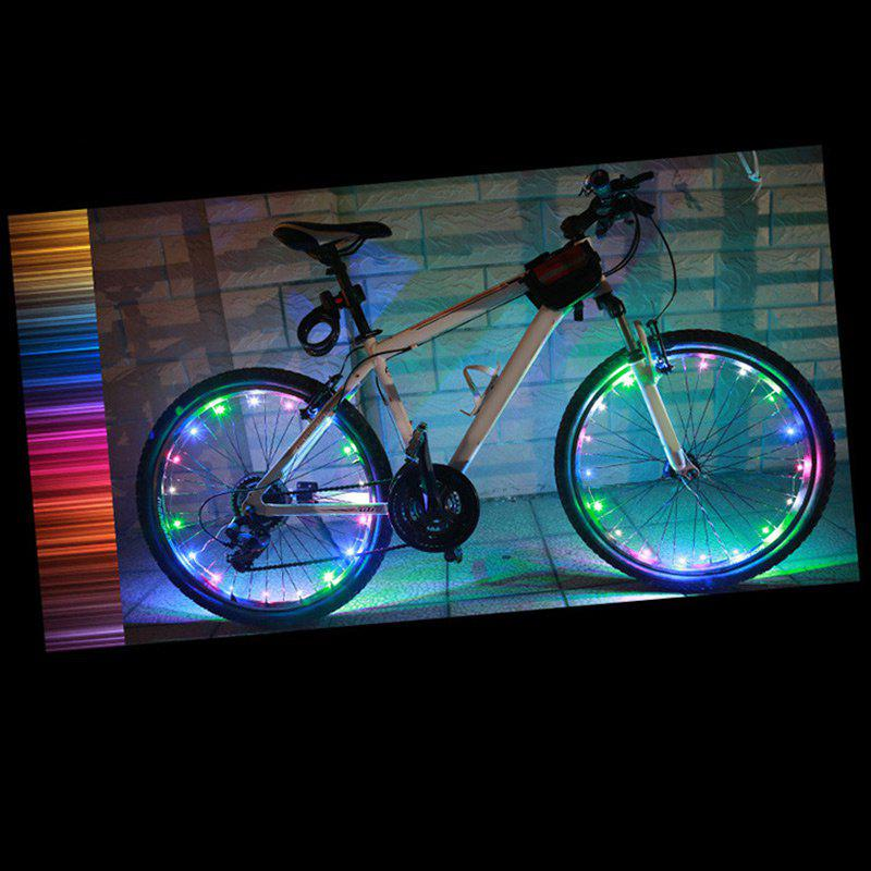 Store Waterproof Bike Wheel Spokes Light LED String Lights