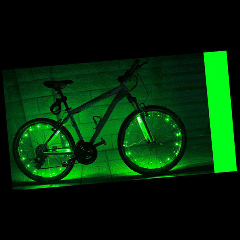 Outfit Waterproof Bike Wheel Spokes Light LED String Lights