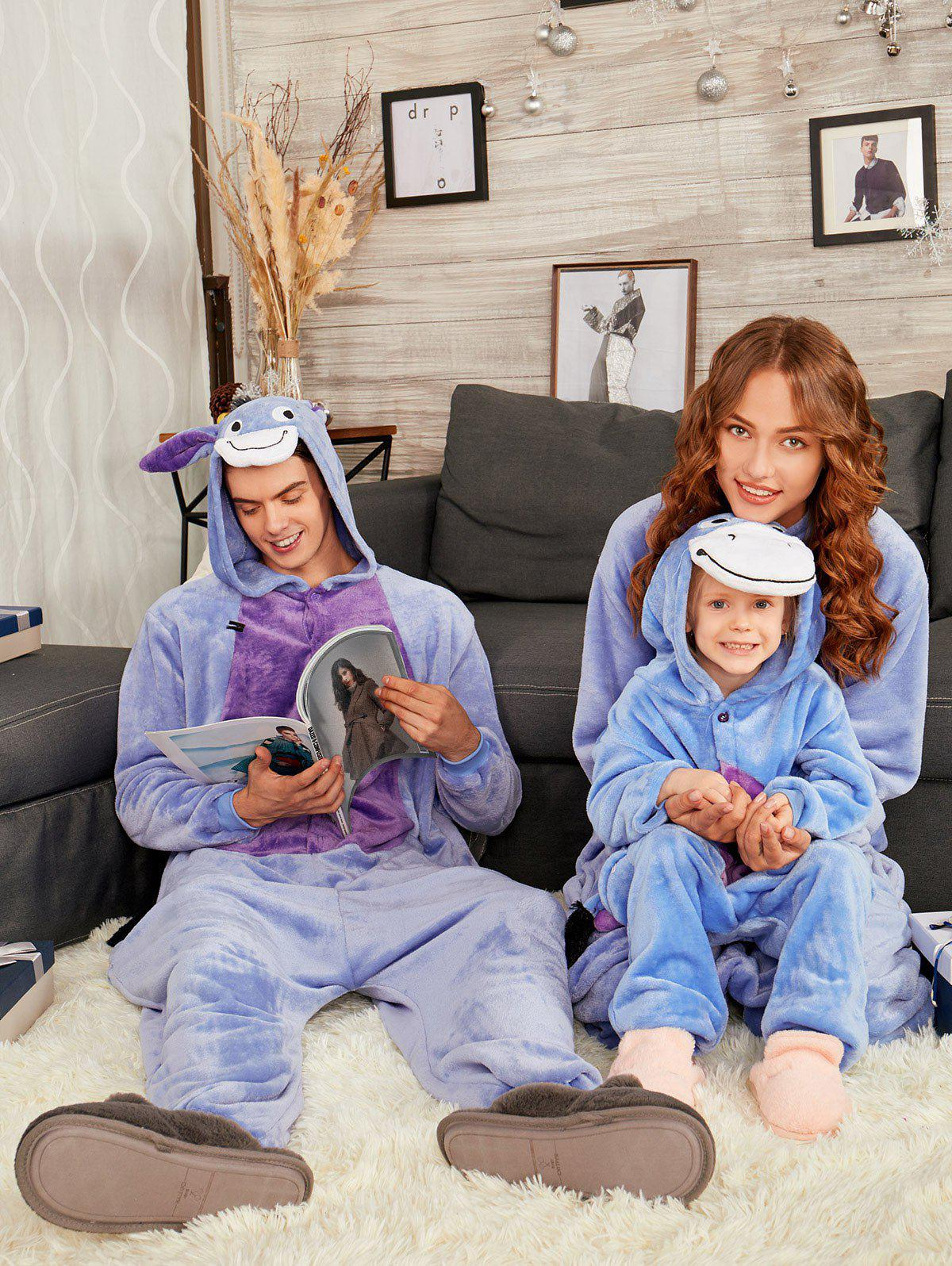 Hot Animal Onesie Donkey Matching Family Christmas Pajama