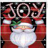 Joy Santa Claus Printed DIY Decorative Christmas Stair Stickers -
