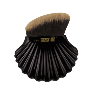 Professional Shell Shape Decorative Bevelled Foundation Brush -