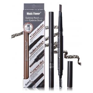 Professional Long Lasting Double Ended Eyebrow Pencil -
