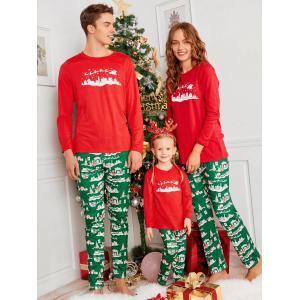 City Print Family Christmas Pajama Set -