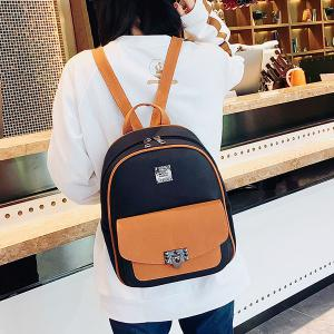 Multi Function PU Leather Backpack With Handle -