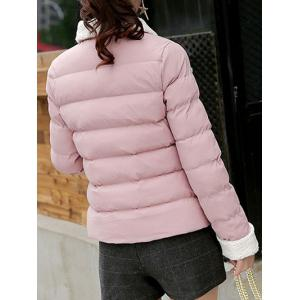 Button Up Quilted Jacket -