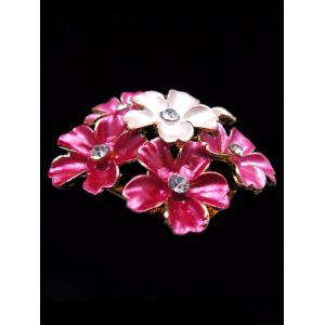 Rhinestone Multi-use Flower Brooch -