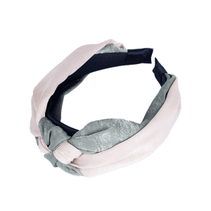 Two Tone Vintage Knot Hairband -