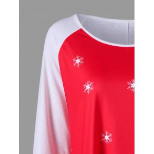 Christmas Plus Size Santa Claus Tunic Tee -