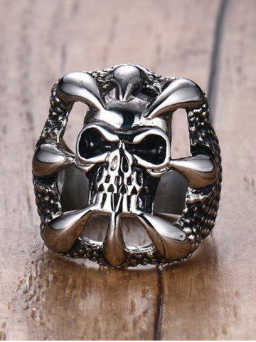 Fancy Skull Claw Stainless Steel Finger Ring