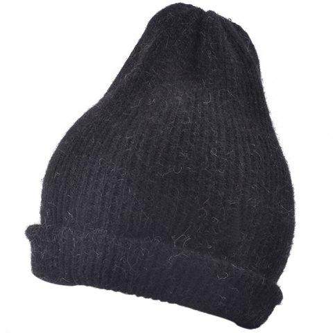 Buy Flanging Embellished Knitted Lightweight Beanie