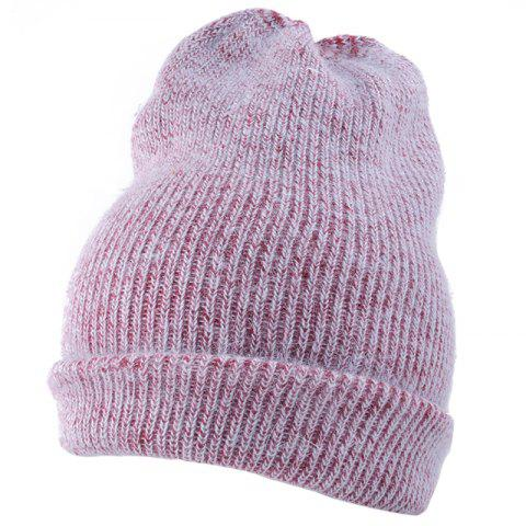 Fashion Flanging Embellished Knitted Lightweight Beanie