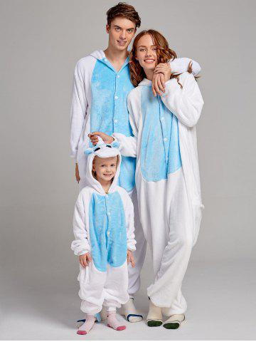 Trendy Cute Unicorn Animal Family Onesie Pajamas
