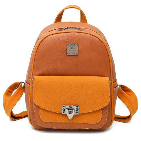 Outfit Multi Function PU Leather Backpack With Handle