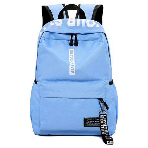 Outfits Letter Print Multi Function Backpack