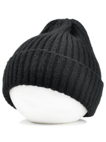 Chic Outdoor Flanging Crochet Knitted Lightweight Beanie