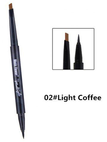 Outfit Dual-use Long Lasting Waterproof Eyebrow Eyeliner Pencil