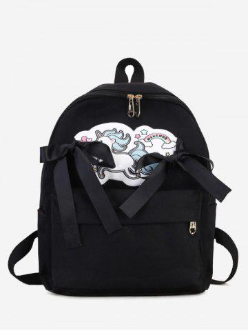 Shop Unicorn Bow Ribbon Backpack