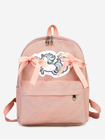 Discount Unicorn Bow Ribbon Backpack