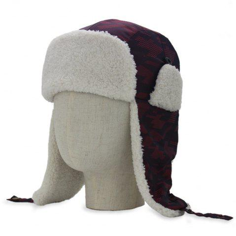 Trendy Outdoor Earmuff Embellished Waterproof Thicken Trapper Hat