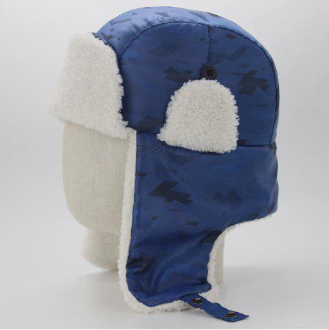 Unique Outdoor Earmuff Embellished Waterproof Thicken Trapper Hat