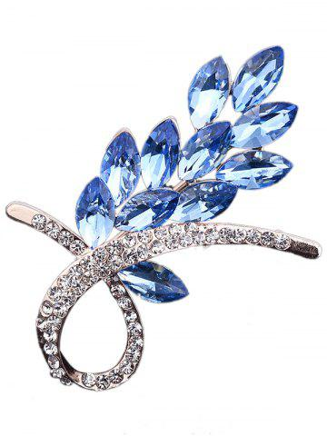 Shops Rhinestone Faux Crystal Flower Brooch
