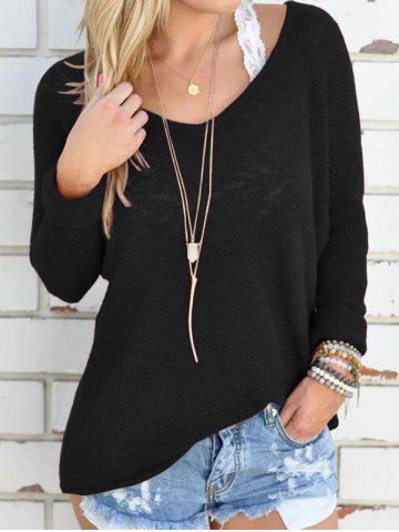 Outfits V Neck Long Sleeve Tunic Knitwear