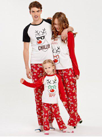 61 deer rudolph matching family christmas pajama set - Cheap Family Christmas Pajamas