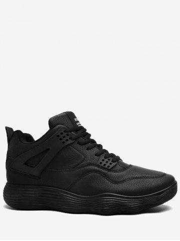 Cheap Casual Basketball PU Leather Sports Shoes