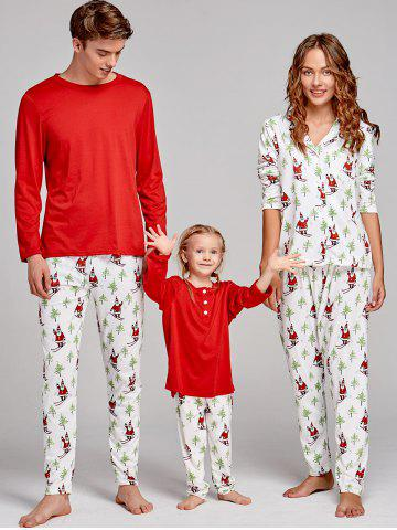 Buy Santa Claus Printed Family Christmas Pajama Suit