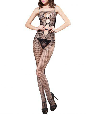 Online Lingerie Cami Fishnet Open Crotch Bodystockings