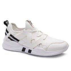 Low Top Mesh Upper Breathable Sports Shoes -