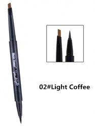 Dual-use Long Lasting Waterproof Eyebrow Eyeliner Pencil -
